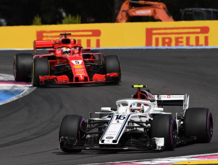 Leclerc. GP de Francia 2018