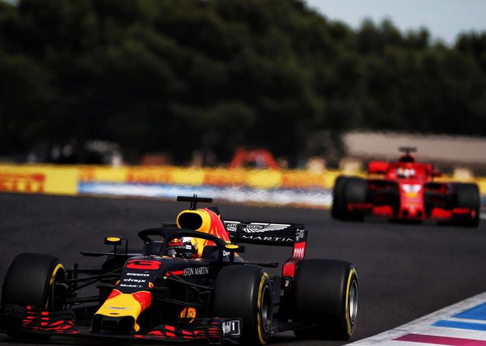 Ricciardo. GP de Francia 2018