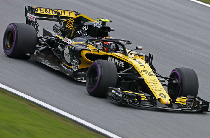 Sainz. Calificación GP de Autria 2018