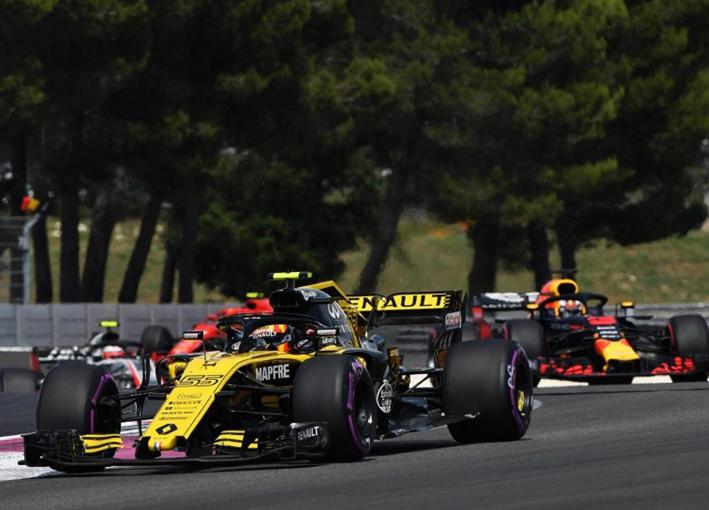 Sainz. GP de Francia 2018