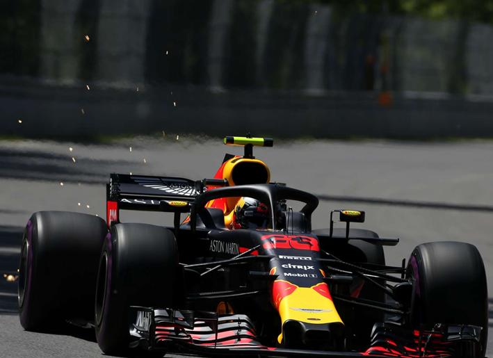 Verstappen. Calificación GP Canadá 2018