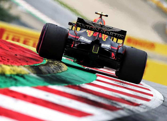 Verstappen. Calificación GP de Autria 2018