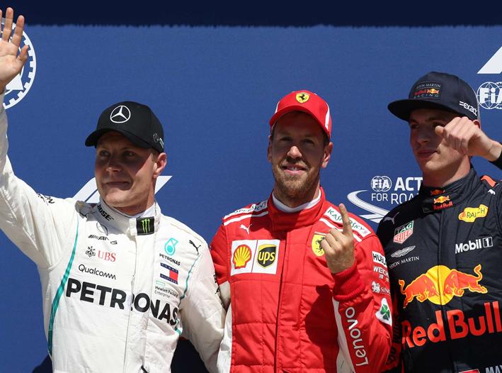 Vettel logra la Pole. GP Canadá 2018