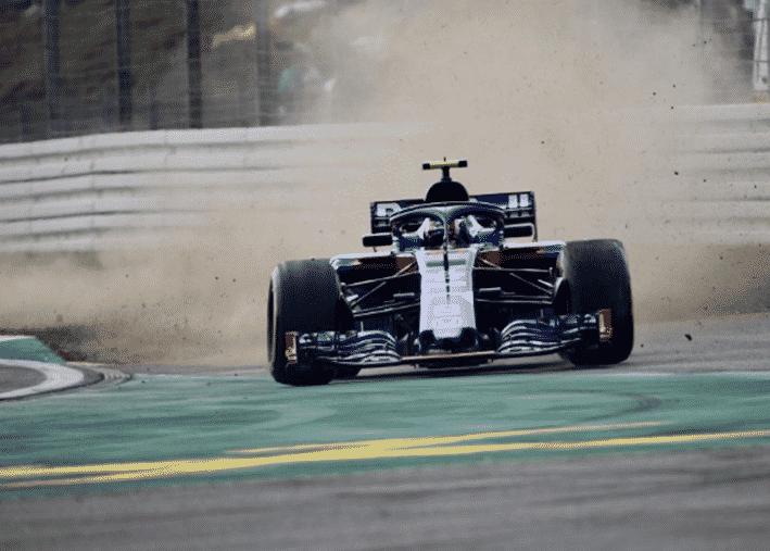 Gasly. GP Alemania 2018