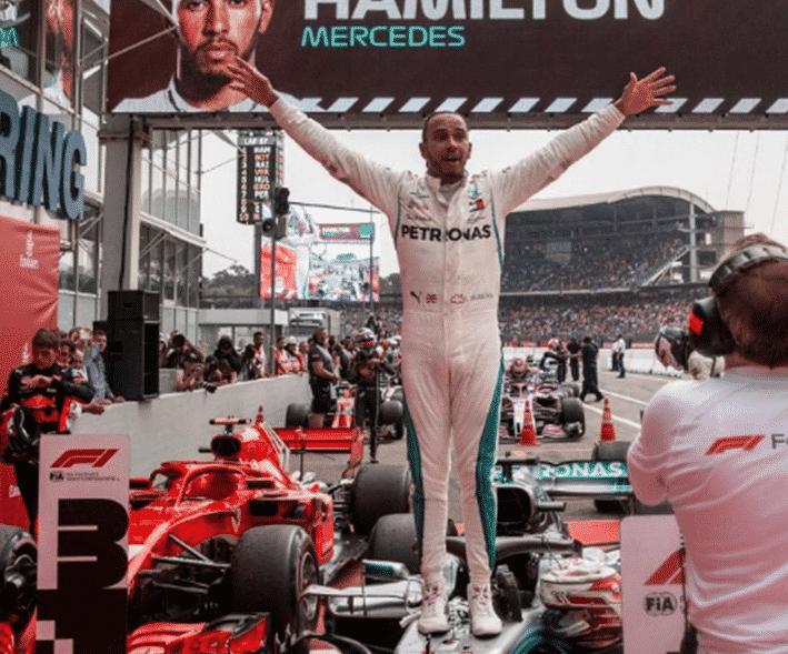 Hamilton consigue la victoria. GP Alemania 2018