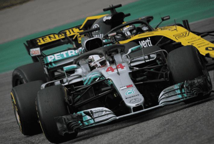 Hamilton. GP Alemania 2018