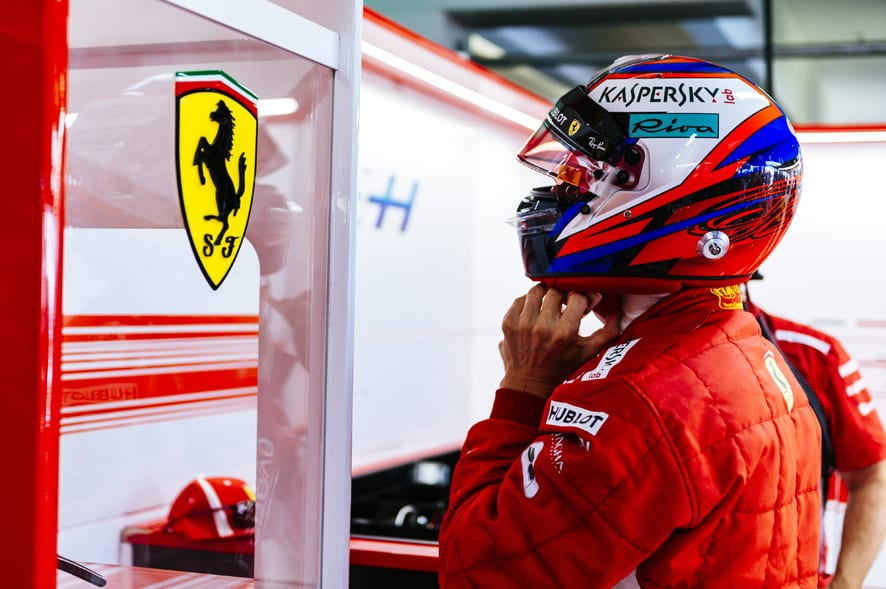 Kimi Raikkonen seguirá un año más en Ferrari debido a la enfermedad de Marchionne