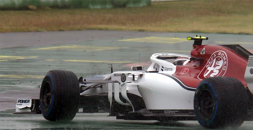 GP de Alemania 2018 – Libres 3: Leclerc el más rápido bajo el diluvio