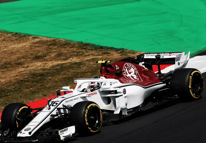 Leclerc. Calificación GP Gran Bretaña 2018