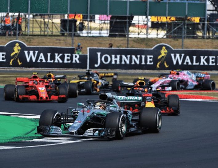 Relance tras Safety Car. GP Gran Bretaña 2018