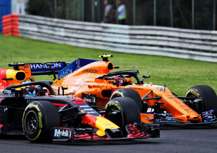 Ricciardo. GP Hungría 2018
