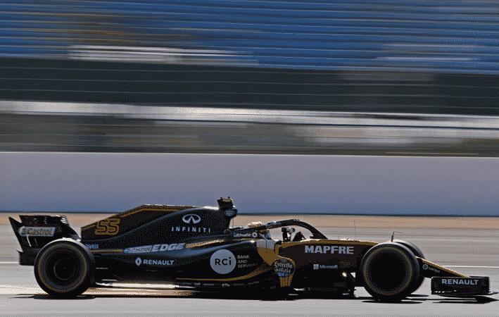 Sainz. Calificación GP Gran Bretaña 2018