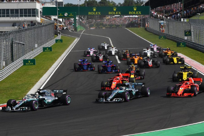 Salida GP Hungría 2018