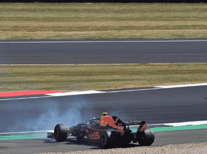 Verstappen. GP Gran Bretaña 2018