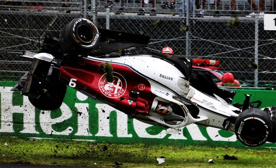 GP de Italia 2018 – Libres 2: Doblete de Ferrari tras el accidente de Ericsson
