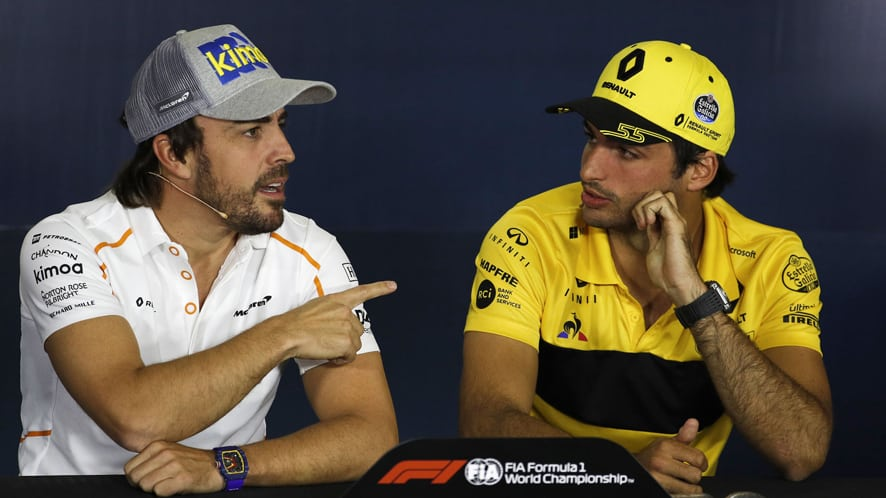 OFICIAL: Carlos Sainz ficha por McLaren sustituyendo a Fernando Alonso en 2019
