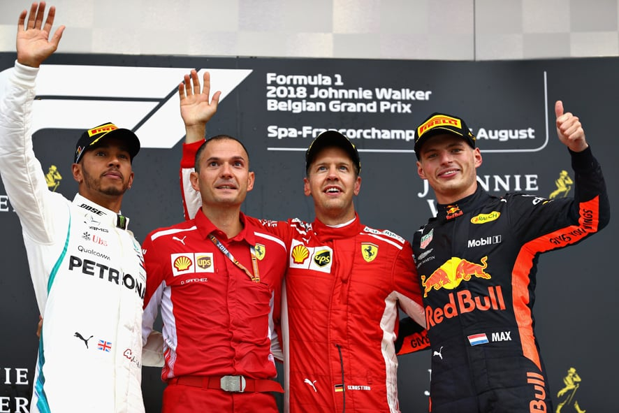 GP de Bélgica 2018 – Victoria incontestable de Vettel en Spa