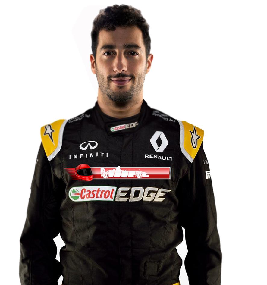 OFICIAL: Daniel Ricciardo firma con Renault por dos temporadas