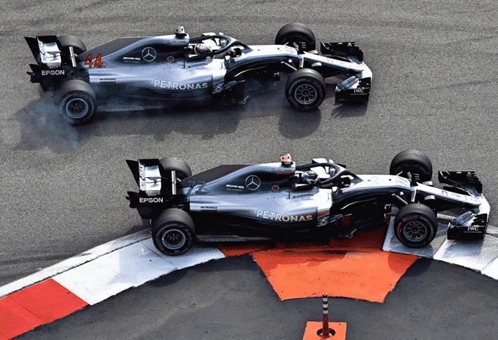 Doblete de Mercedes. GP de Rusia 2018