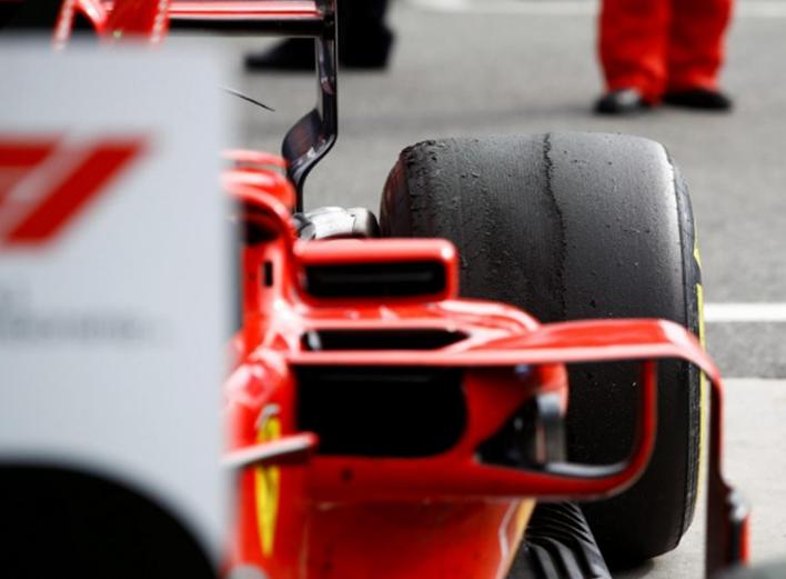 Ferrari de Raikkonen. GP de Italia 2018