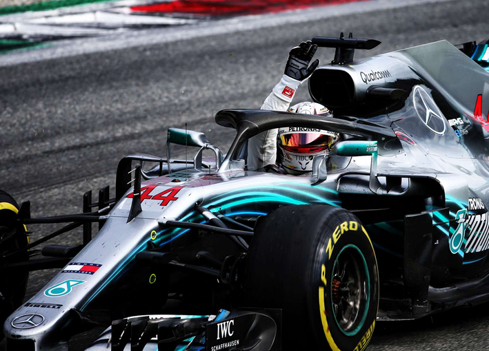 Hamilton consigue la victoria del GP de Italia 2018