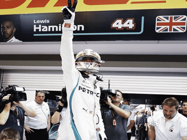 Hamilton logra la Pole del GP de Singapur 2018