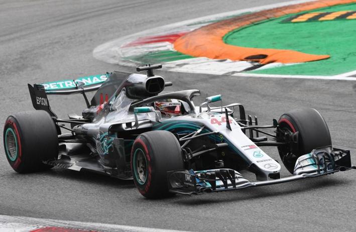 Hamilton logra la victoria del GP de Italia 2018