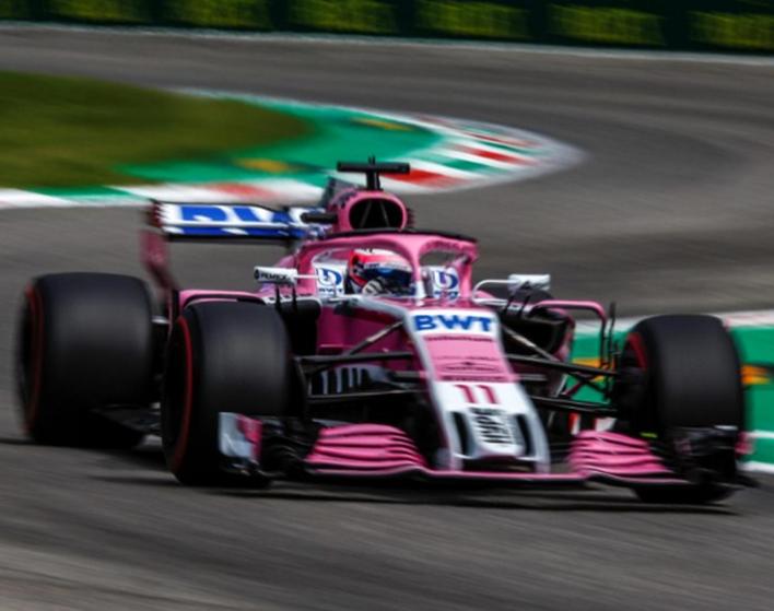 Pérez. Calificación GP de Italia 2018