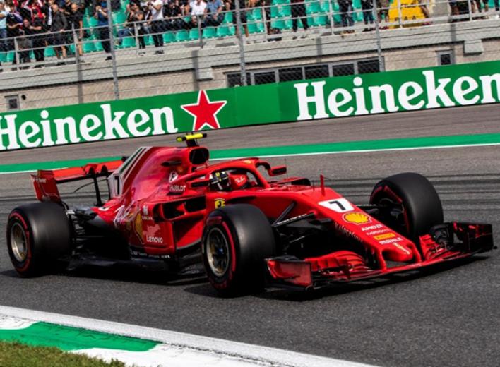 Raikkonen consigue la Pole del GP de Italia 2018