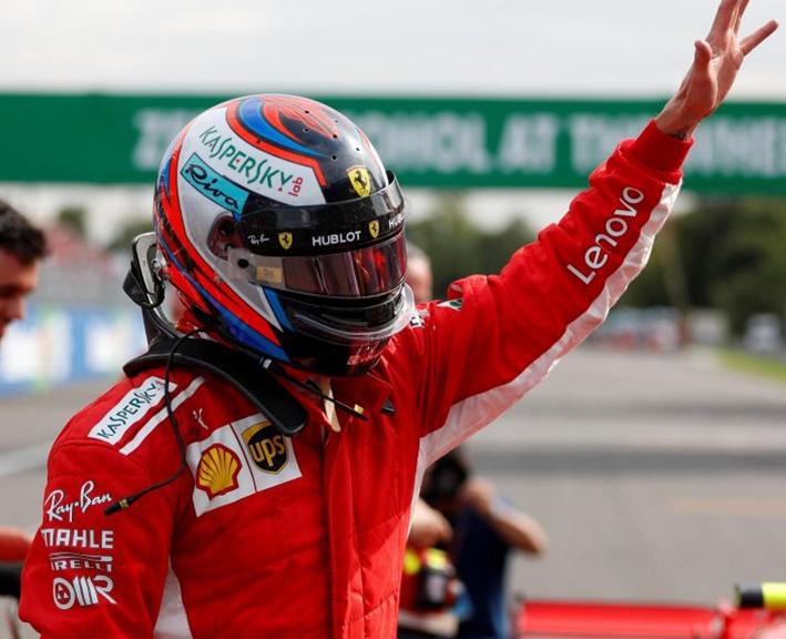 Raikkonen logra la Pole del GP de Italia 2018