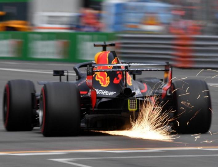 Ricciardo. Calificación GP de Italia 2018