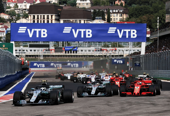 Salida GP Rusia 2018