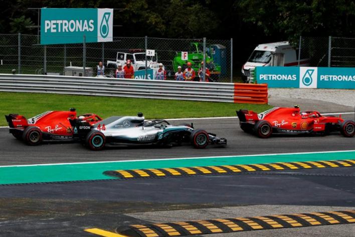 Salida GP de Italia 2018