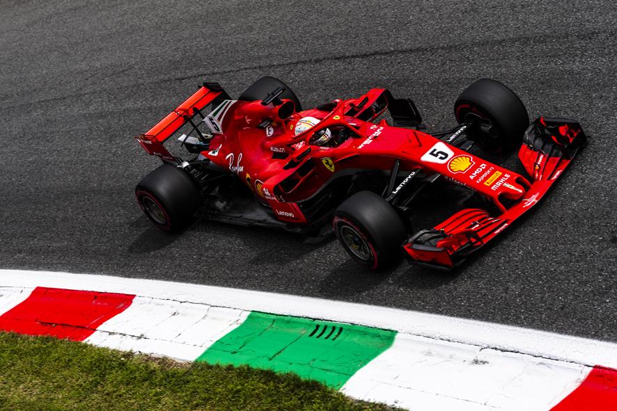GP de Italia 2018 – Libres 3: Vettel mantiene a Ferrari en cabeza