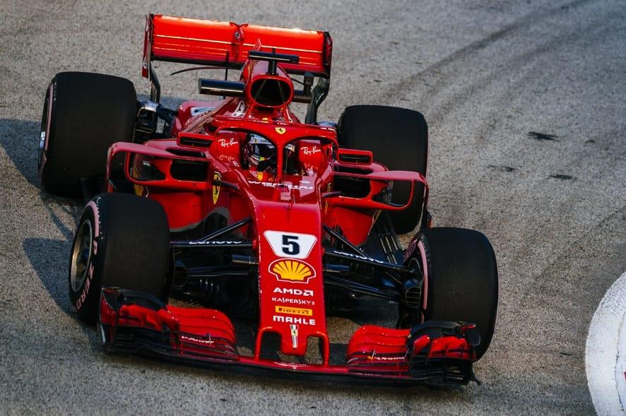 GP de Singapur 2018- Libres 3: Ferrari domina en Marina Bay