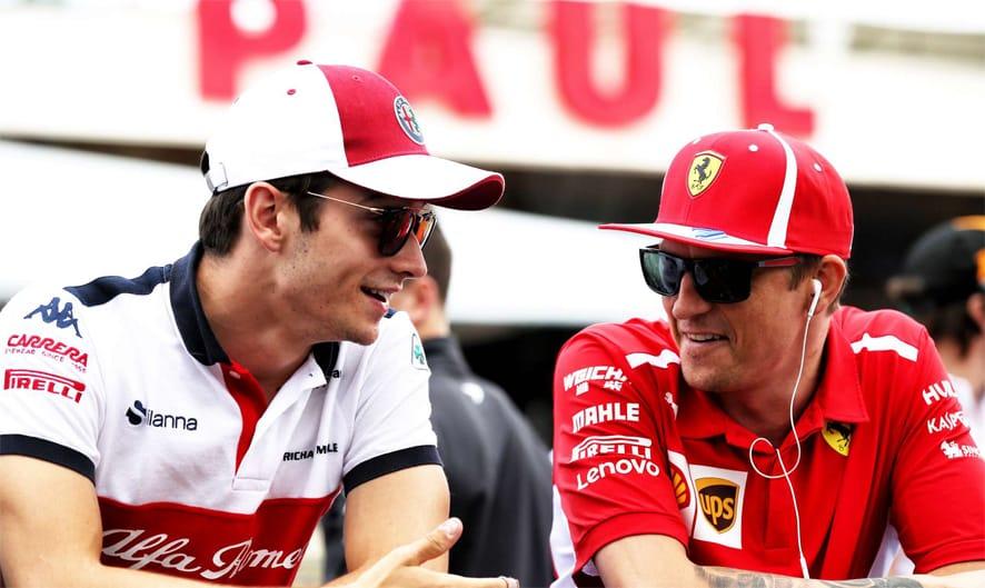 OFICIAL: Charles Leclerc sustituye a Kimi Raikkonen, quien vuelve a Sauber
