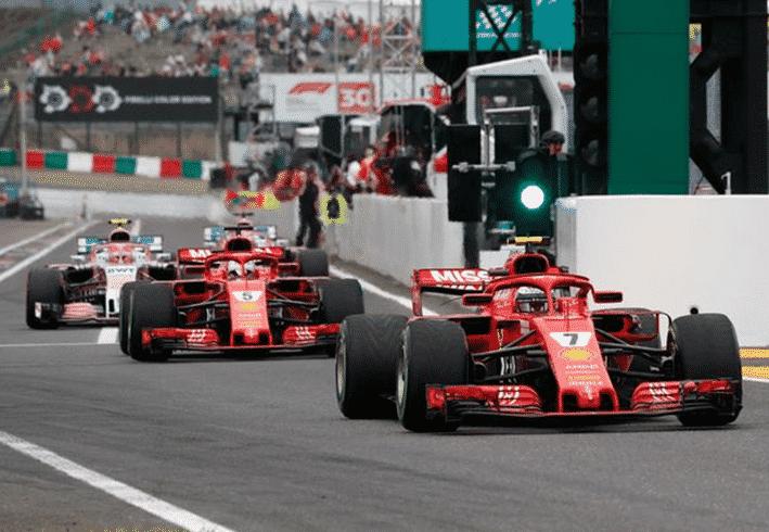 Ferrari. Calificación GP de Japón 2018