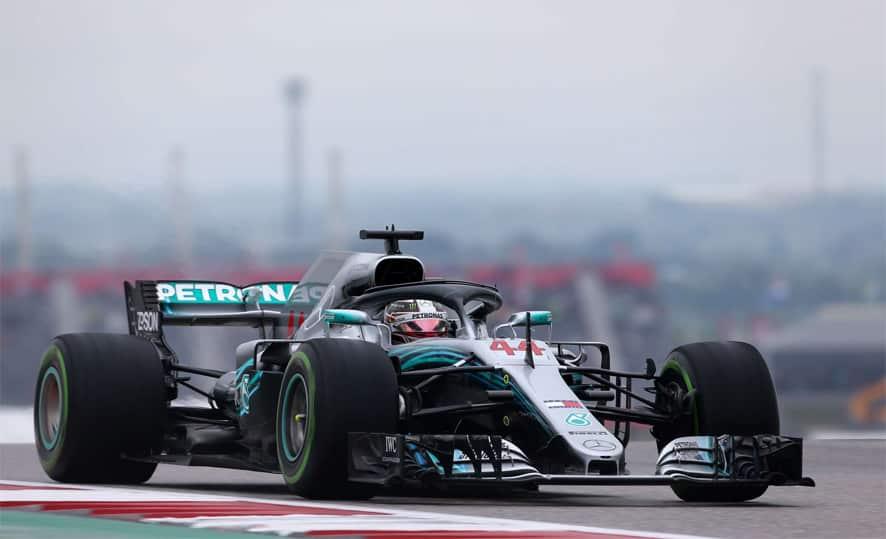 GP de EE.UU. 2018-Libres 2: Hamilton líder y Vettel sancionado con tres puestos