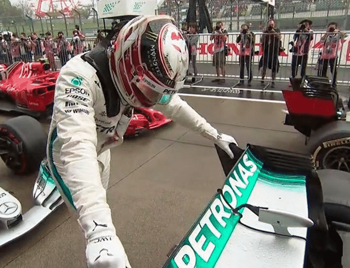 Hamilton consigue la Pole del GP de Japón 2018