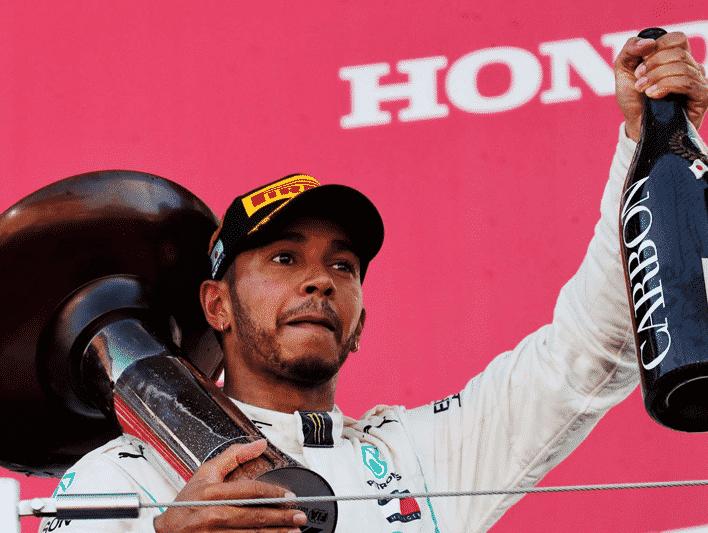 Hamilton consigue la victoria. GP de Japón 2018