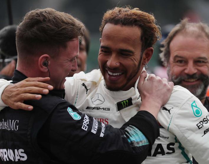 Hamilton consigue su 5º Mundial. GP México 2018