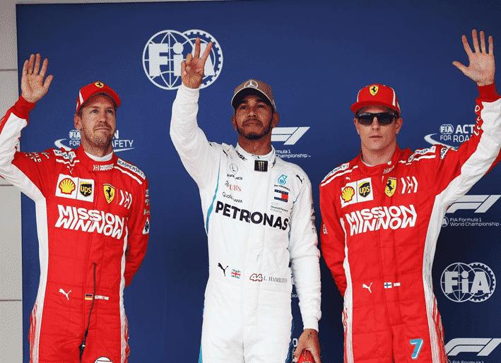 Hamilton logra la Pole. GP EE.UU. 2018