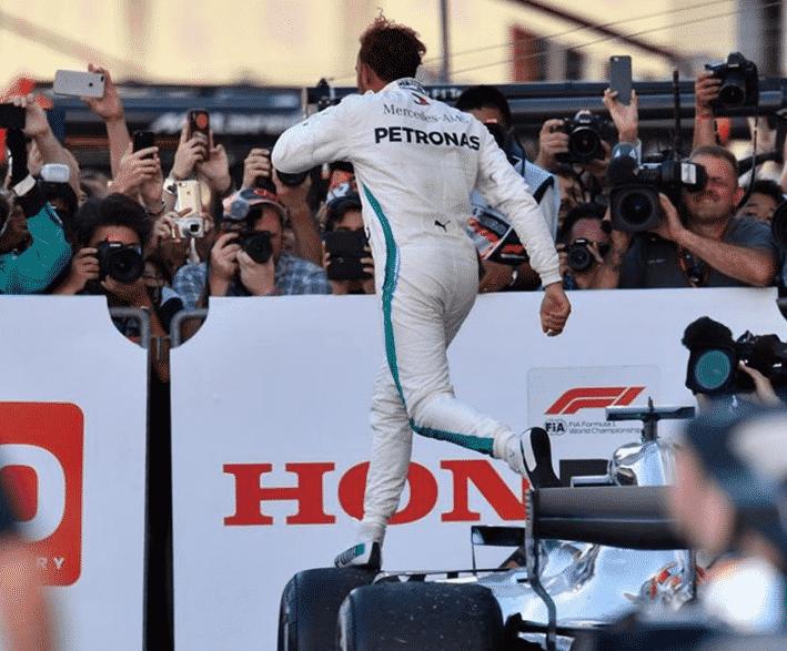 Hamilton logra la victoria. GP de Japón 2018