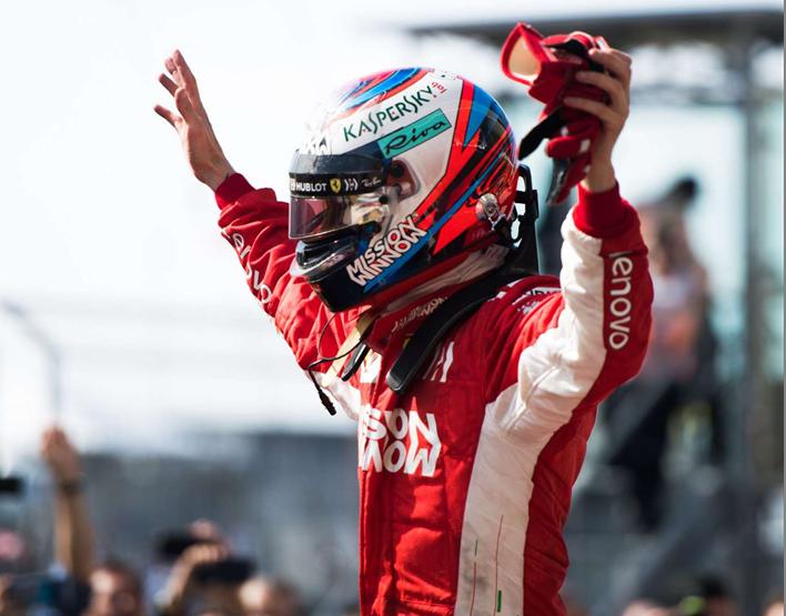 Raikkonen logra la victoria. GP de EE.UU. 2018