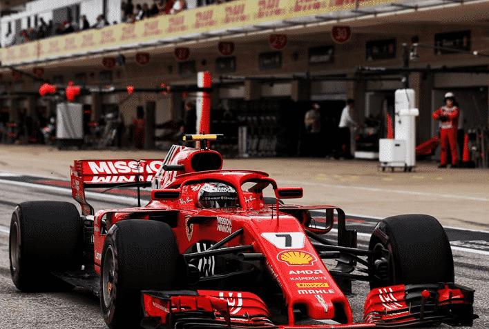 Raikkonen. Calificación GP EE.UU. 2018
