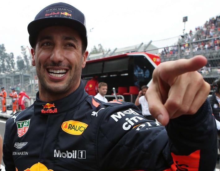 Ricciardo logra la Pole. Calificación GP de México 2018