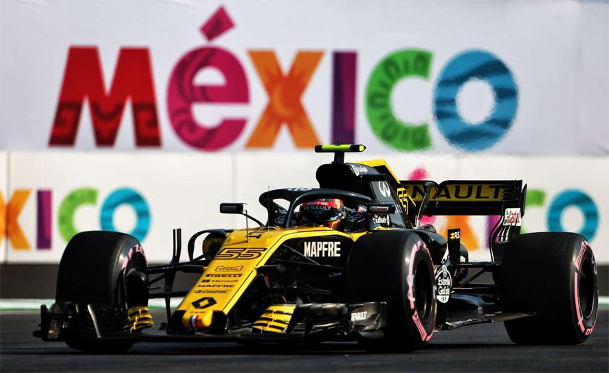 GP de México 2018 – Libres 2: Carlos Sainz vuelve a ser tercero tras los Red Bull
