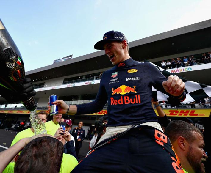 Verstappen consigue la victoria. GP México 2018