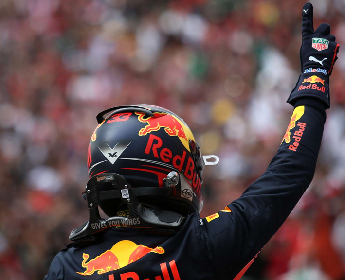 Verstappen logra la victoria del GP de México 2018