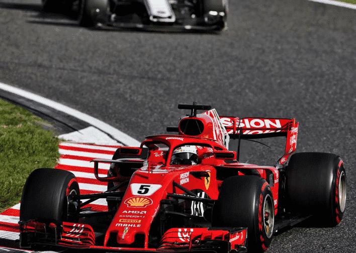 Vettel. GP Japón 2018